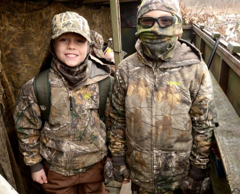 Davis P. Rice Memorial Youth Waterfowl Hunt 2018