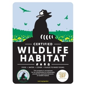 Certified Wildlife Habitat Sign