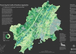 Cradle of Southern Appalachia Map