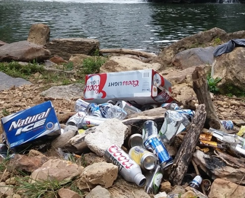 litter in Tennessee